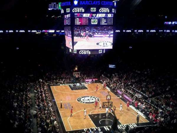 Barclays Center, section 217, home of New York Islanders ...