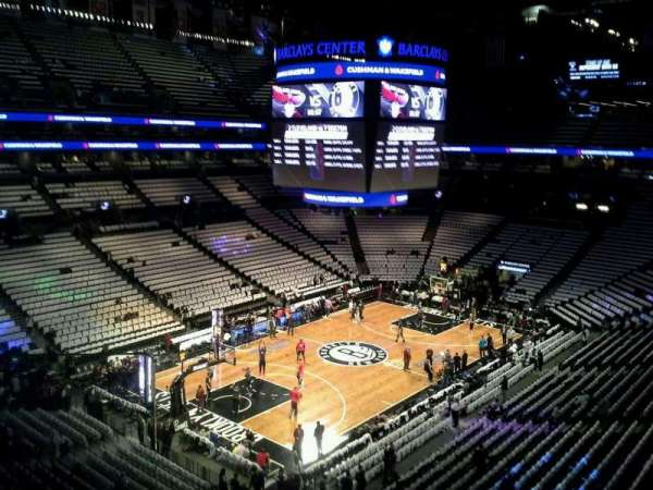 Barclays Center, section 228, home of New York Islanders ...