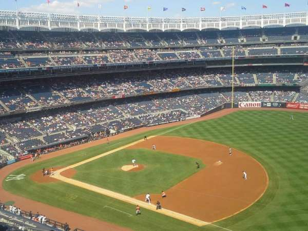 Yankee Stadium, section: 312, row: 7, seat: 21