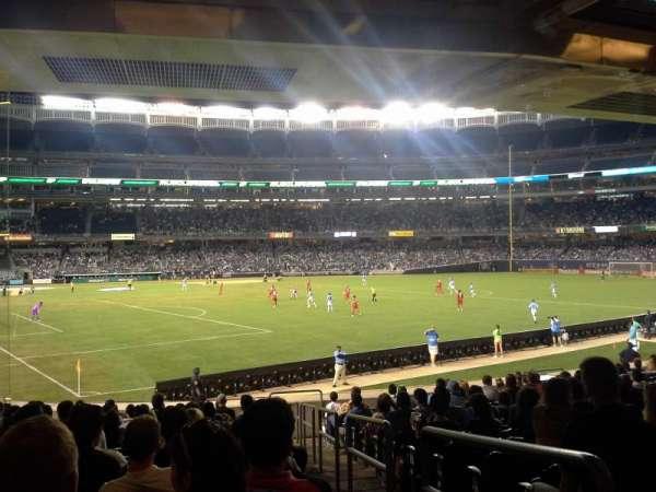 Yankee Stadium, section: 107, row: 25, seat: 1