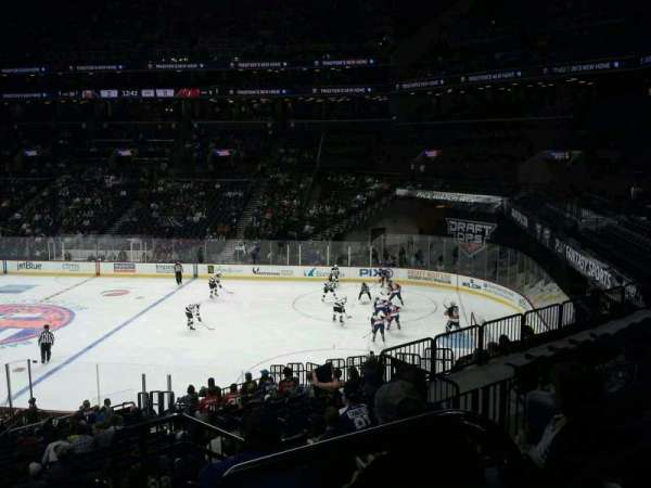 Barclays Center, section: 105, row: 7, seat: 1