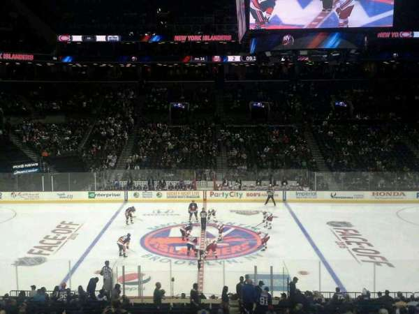Barclays Center, section: 125, row: 8, seat: 1
