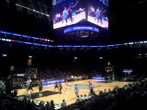 Barclays Center, section: 29, row: 11, seat: 1