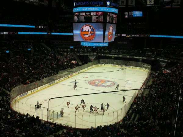 Barclays Center, section: 214, row: 2, seat: 1