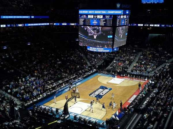 Barclays Center, section: 214, row: 7, seat: 3