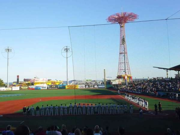 MCU Park, section: 7, row: S, seat: 1
