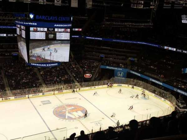 Barclays Center, section: 210, row: 11, seat: 1