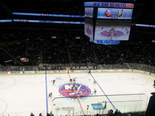 Barclays Center, section 226, home of New York Islanders ...
