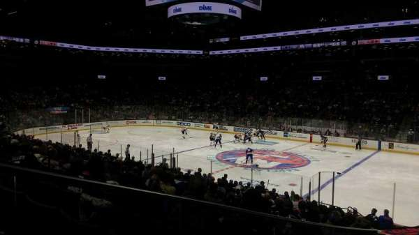 Barclays Center, section: 20, row: 19