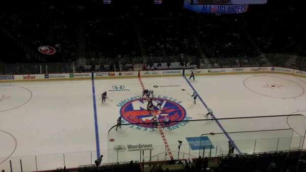 Barclays Center, section: 226, row: 8, seat: 1