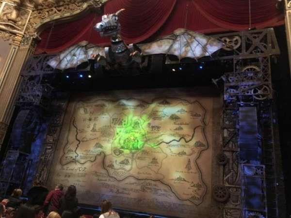 Nederlander Theatre (Chicago), section: Orchestra R, row: K, seat: 2
