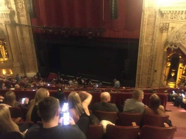 Chicago Theatre, section: Balcony2R, row: K, seat: 220