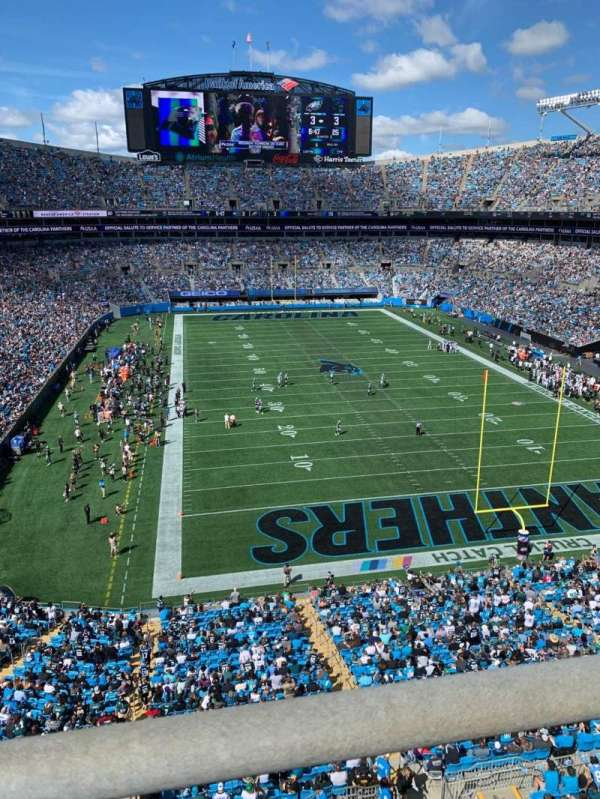 Bank of America Stadium, section: 530, row: WC, seat: 14