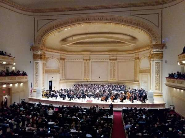 Carnegie Hall, section: Blavatnik Family First Tier, row: 29, seat: 3