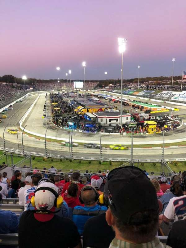 Martinsville Speedway, section: 102, row: 26, seat: 3