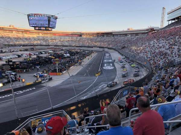 Bristol Motor Speedway, section: Petty G, row: 10