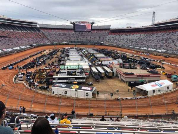 Bristol Motor Speedway, section: Waltrip T, row: 30, seat: 11