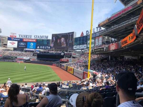 Yankee Stadium, section: 110, row: 22, seat: 3