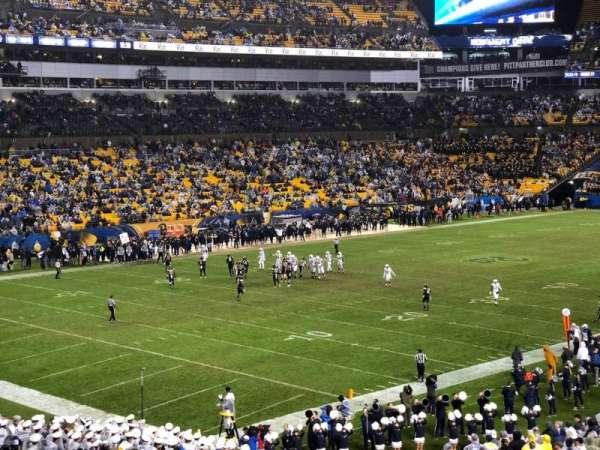 Heinz Field, section: 104, row: MM
