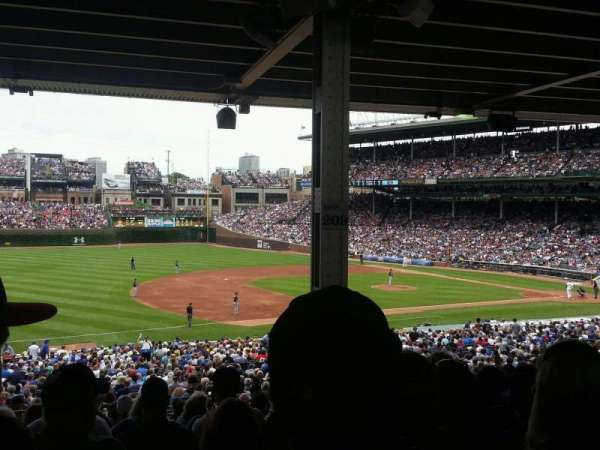 Wrigley Field, section: 208, row: 15, seat: 20