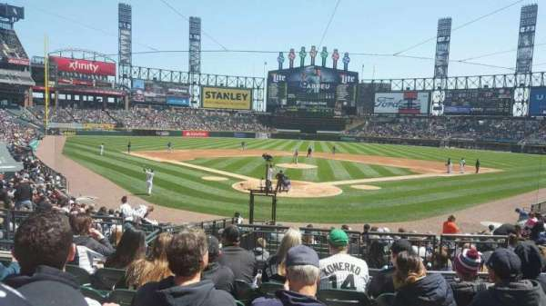 Guaranteed Rate Field, section: 132, row: 21, seat: 6