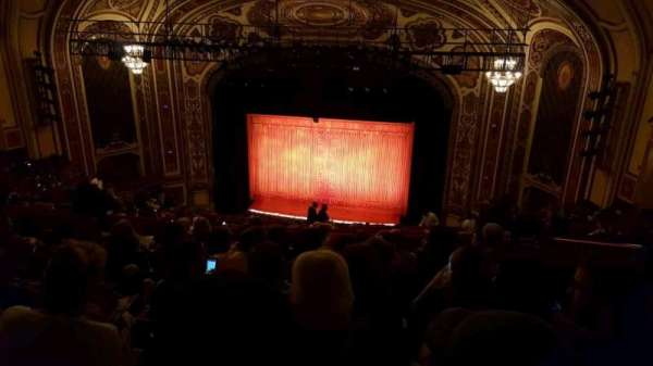 Cadillac Palace Theater, section: Balcony RC, row: S, seat: 328