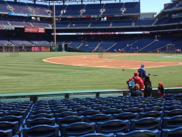 Citizens Bank Park, section: 135, row: 13, seat: 9