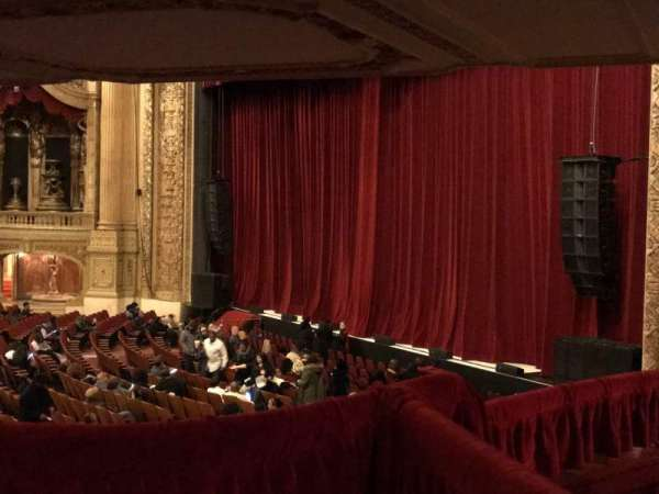 Chicago Theatre Section Mezzanine Box C Seat 1 2