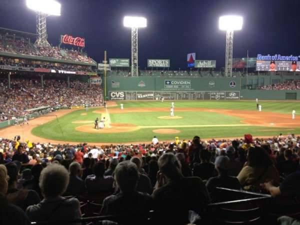 Fenway Park, section: Grandstand 17, row: 2, seat: 13