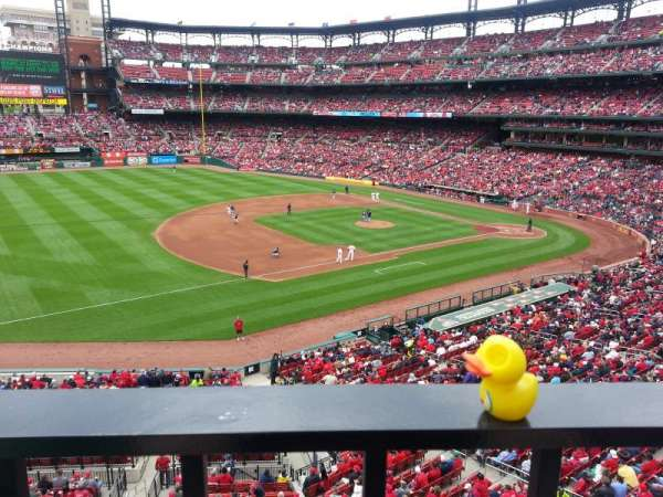 Busch Stadium, section: 261, row: 1, seat: 4