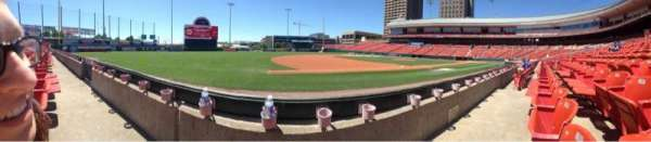Coca-Cola Field, section: 115, row: C, seat: 17