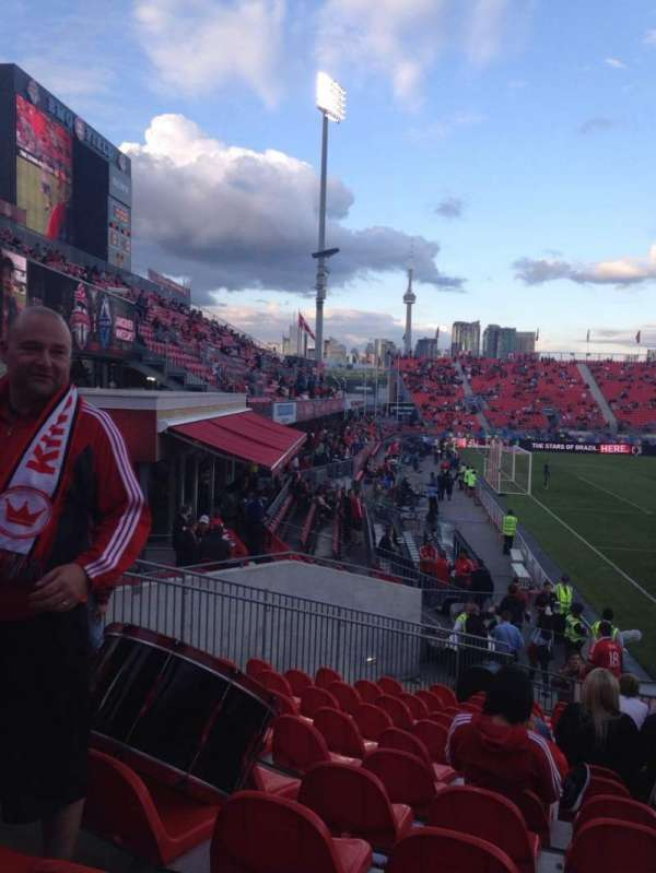 BMO Field, section: 127, row: 15, seat: 10