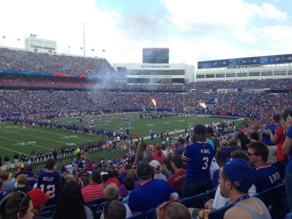 New Era Field, section: 137, row: 37, seat: 22