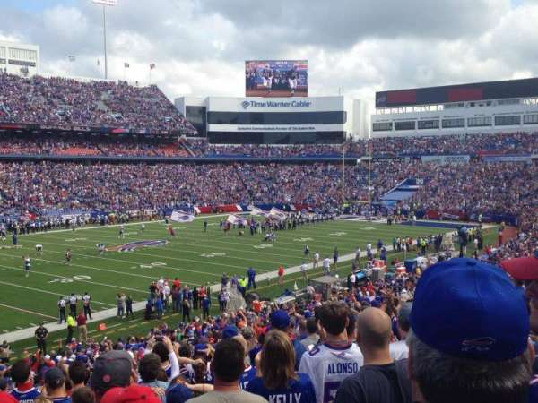 New Era Field, section: 137, row: 37, seat: 23