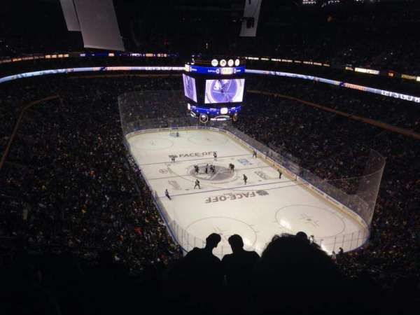 KeyBank Center, section: 301, row: 13, seat: 4
