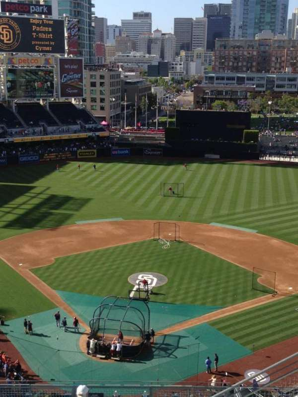 Petco Park, section: 301, row: 14, seat: 16