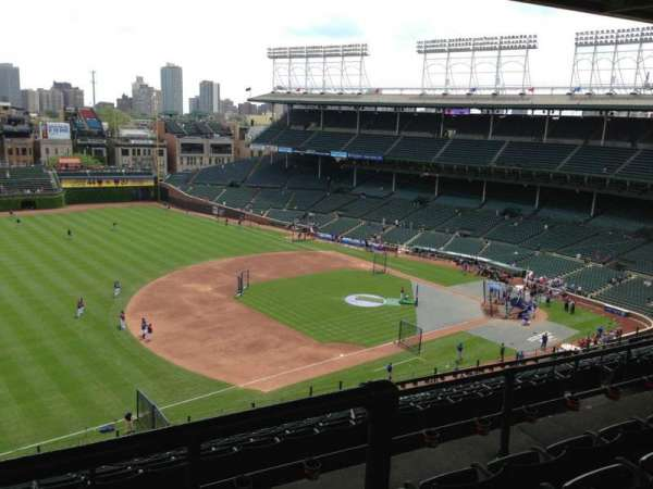 Wrigley Field, section: 409L, row: 4, seat: 5