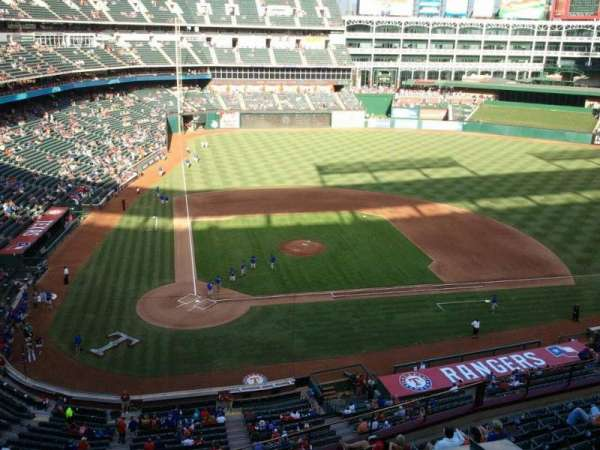 Globe Life Park in Arlington, section: Nolan Ryan Suite 225A, row: 1, seat: 1