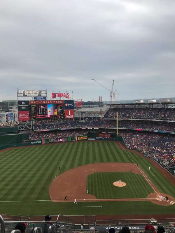 Nationals Park, section: 408, row: K, seat: 28