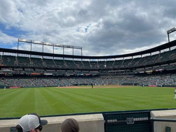 Oriole Park at Camden Yards, section: 86, row: 4, seat: 2