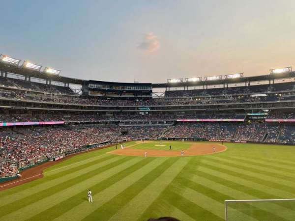 Nationals Park, section: 240, row: C, seat: 3