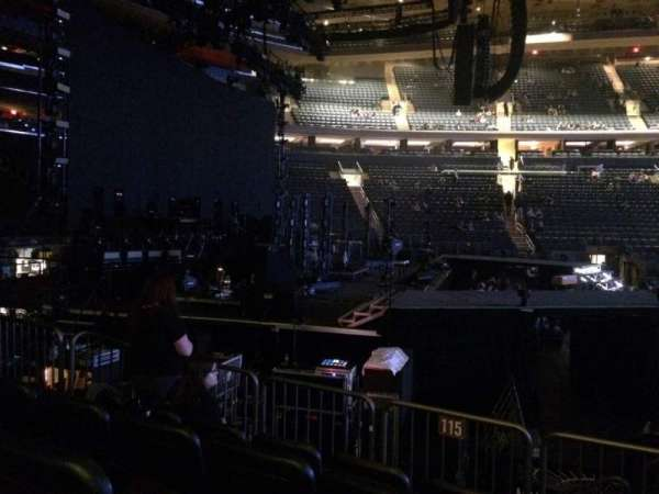 Madison Square Garden, section: 115, row: 6, seat: 15