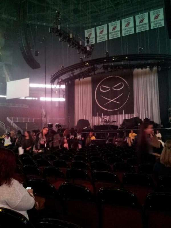 Prudential Center, section: A, row: 20, seat: 12