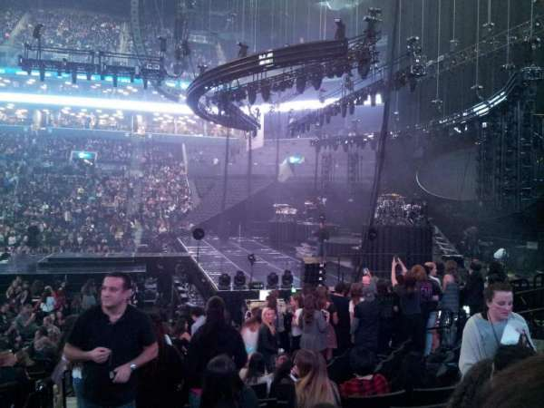 Barclays Center, section: 6, row: 12, seat: 7