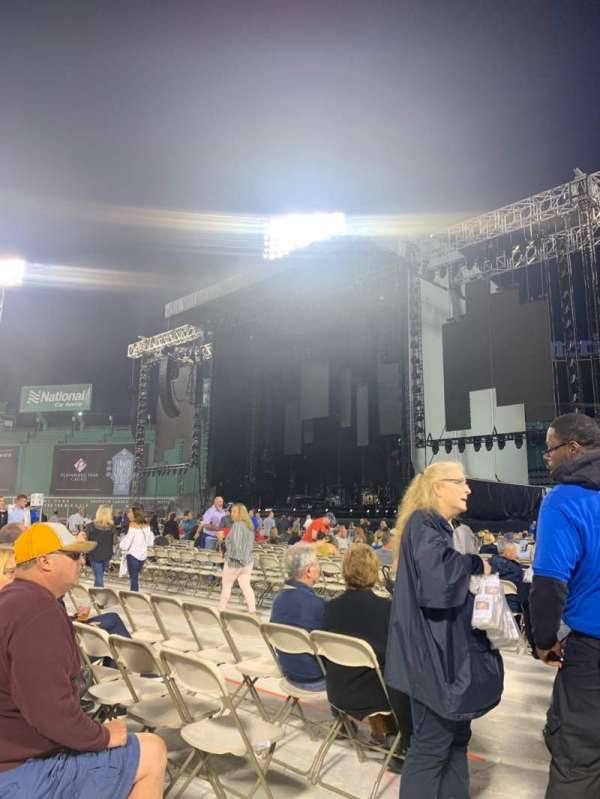 Fenway Park, section: B1, row: 4, seat: 28