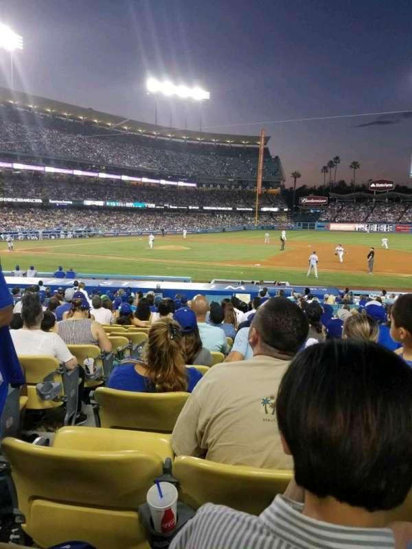 Dodger Stadium, section: 24FD, row: O, seat: 1