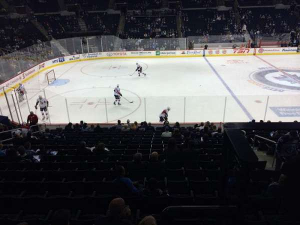Bell MTS Place, section: 207, row: 2, seat: 10