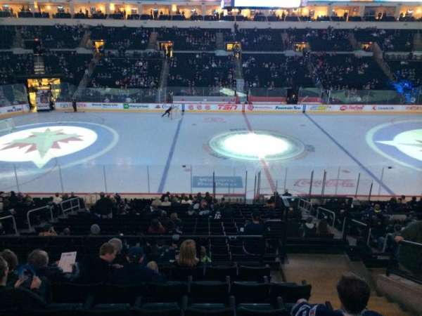 Bell MTS Place, section: 206, row: 7, seat: 10