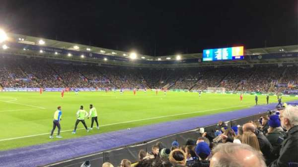 King Power Stadium, section: A2, row: F, seat: 66