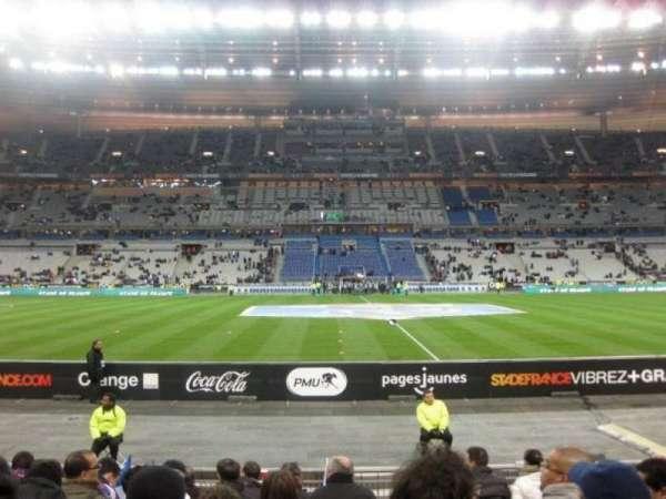 Stade de France, section: Tribune Base- Est G5, row: 10, seat: 10